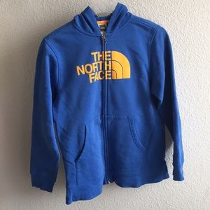 The North Face Boys Logo Wear Full Zip Hoodie L